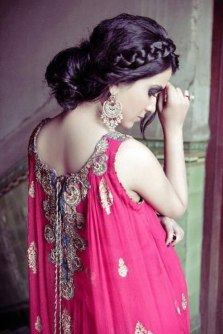 Indian bridal hairstyles 85
