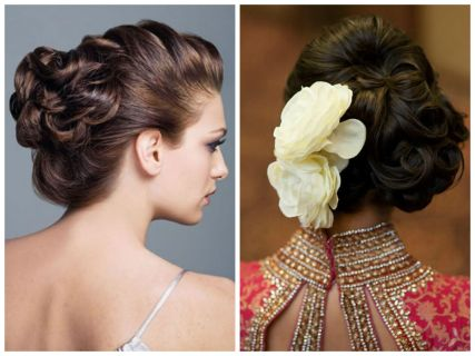 indian bridal hairstyles 98