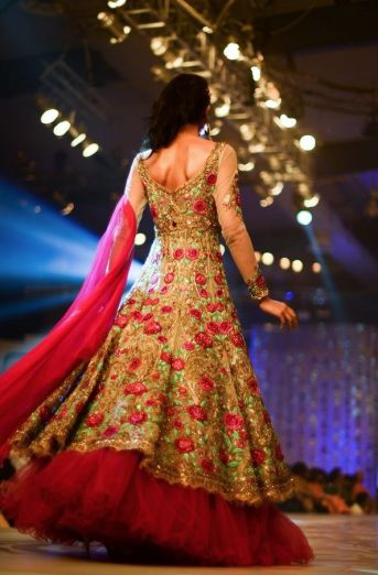 Indian Bridal Lehenga Designs 02