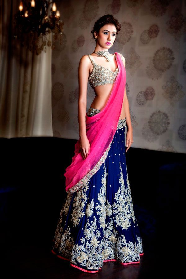 25 Ethnic Indian Bridal Lehenga Designs Inspired By The Latest Fashion Trends | Indian Makeup ...