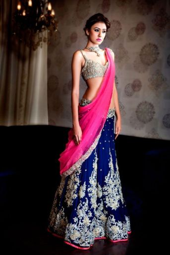 Indian Bridal Lehenga Designs 03