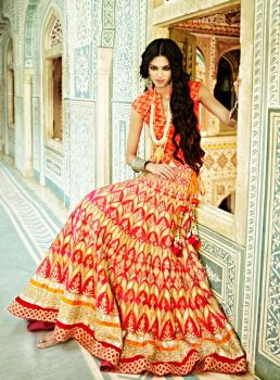Indian Bridal Lehenga Designs 08