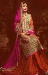 Indian Bridal Lehenga Designs 12