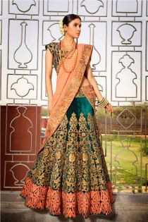 Indian Bridal Lehenga Designs 18