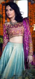 Indian Bridal Lehenga Designs 19