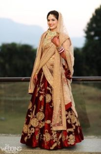 Indian Bridal Lehenga Designs 20