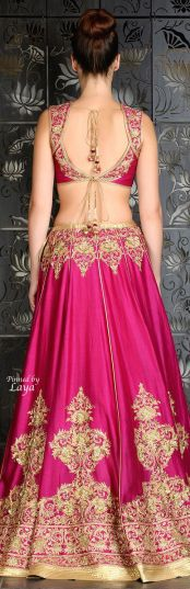 Indian Bridal Lehenga Designs 22