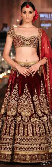 Indian Bridal Lehenga Designs 23