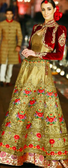 Indian Bridal Lehenga Designs 25