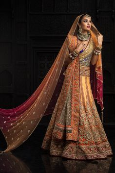 Latest bridal lehenga designs 01