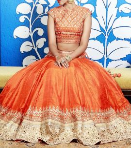 Latest bridal lehenga designs 08
