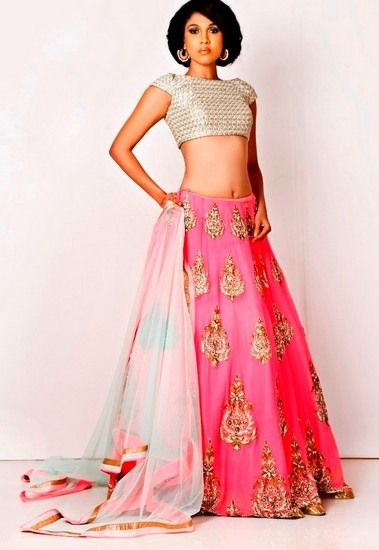 Latest bridal lehenga designs 11