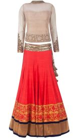 Latest bridal lehenga designs 13