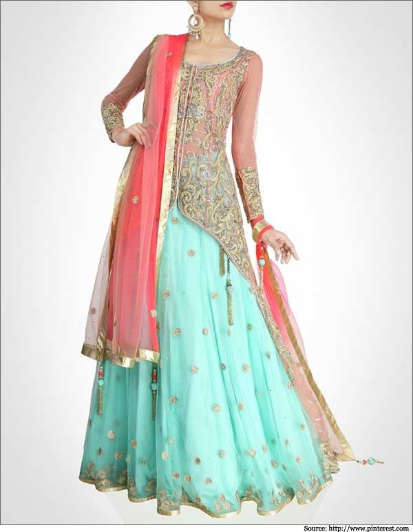 Latest bridal lehenga designs 14