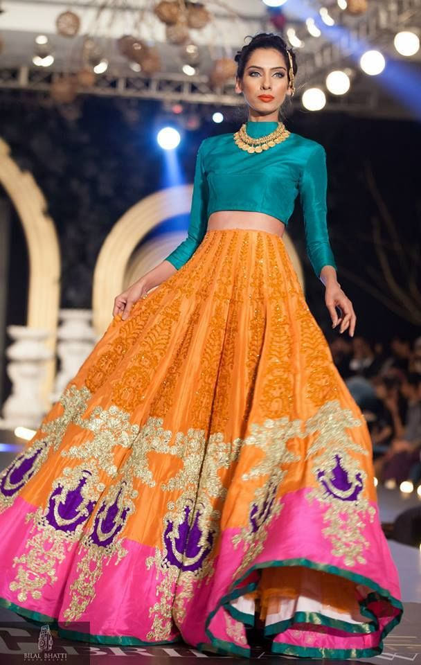 Latest bridal lehenga designs 17