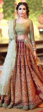 Latest bridal lehenga designs 18