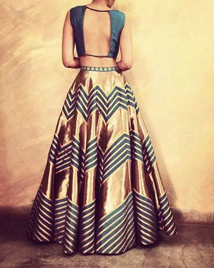 Latest bridal lehenga designs 20