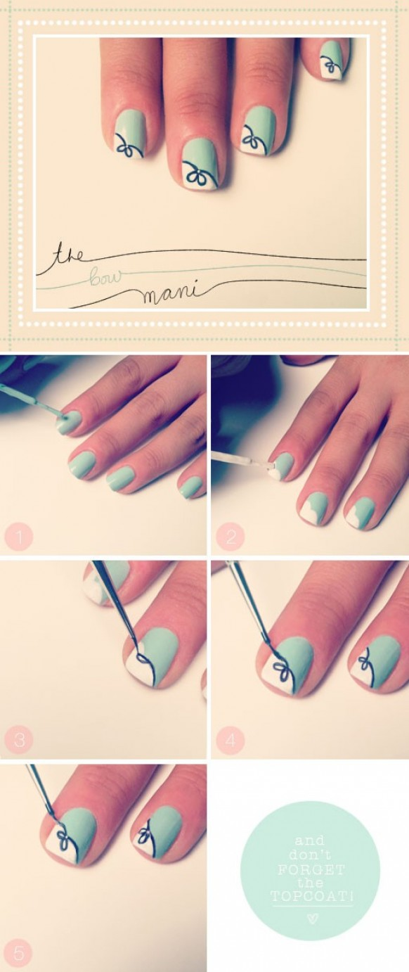 Top 5 Step By Step Nail Art Designs For Beginners Indian Makeup