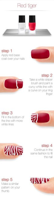 Nail art designs step by step 05