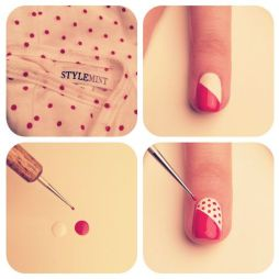 Nail art designs step by step 08