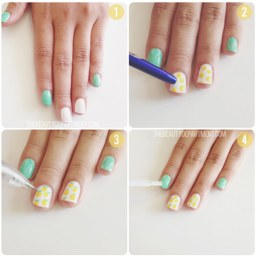 Nail art designs step by step 09