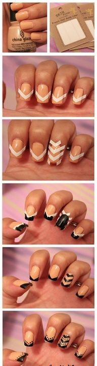 Nail art designs step by step 10