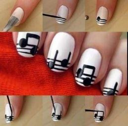 Nail art designs step by step 11