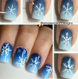 Nail art designs step by step 15