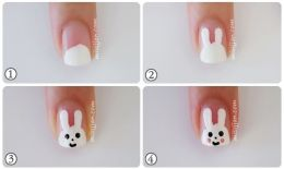 Nail art designs step by step 16