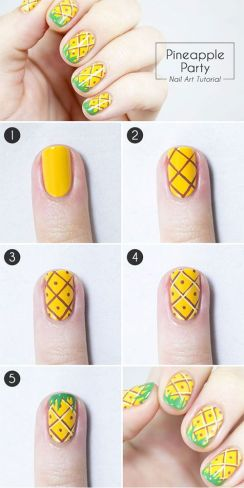 Nail art designs step by step 18