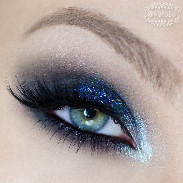 eye makeup looks inspired by blue and green colors : Indian Makeup ...