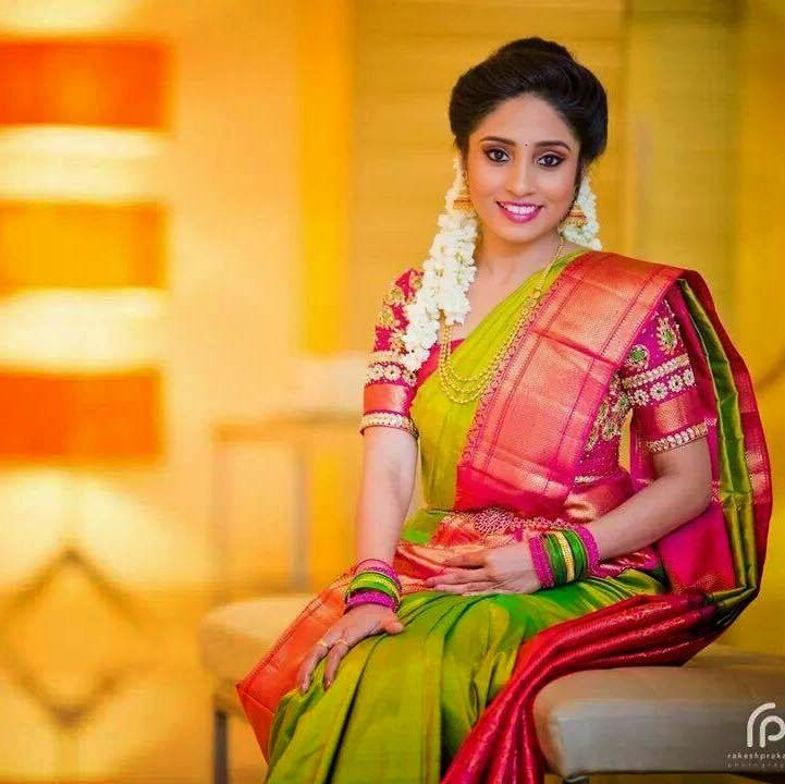 Hairstyle For Bride On Saree: Indian Makeup And Beauty Blog