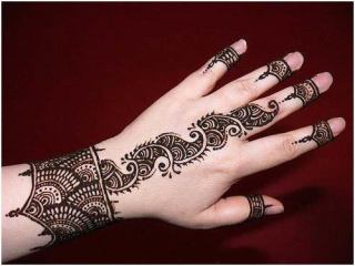 Arabic mehndi designs 35