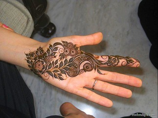 Arabic mehndi designs 36