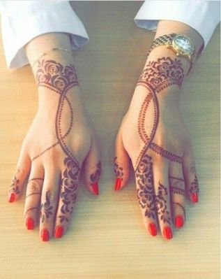 Arabic mehndi designs 37