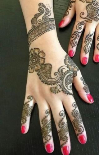 Arabic mehndi designs 38