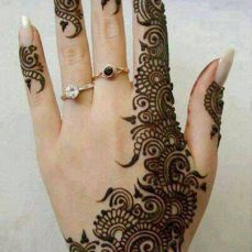 Arabic mehndi designs 41