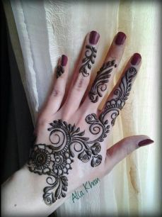 Arabic mehndi designs 42