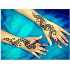 Arabic mehndi designs 43