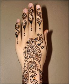 Arabic mehndi designs 46