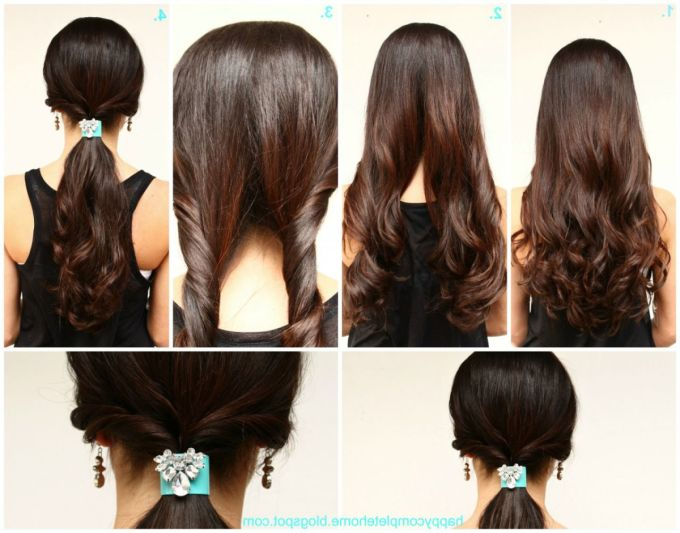 easy hairstyles 02 | indian makeup and beauty blog | beauty