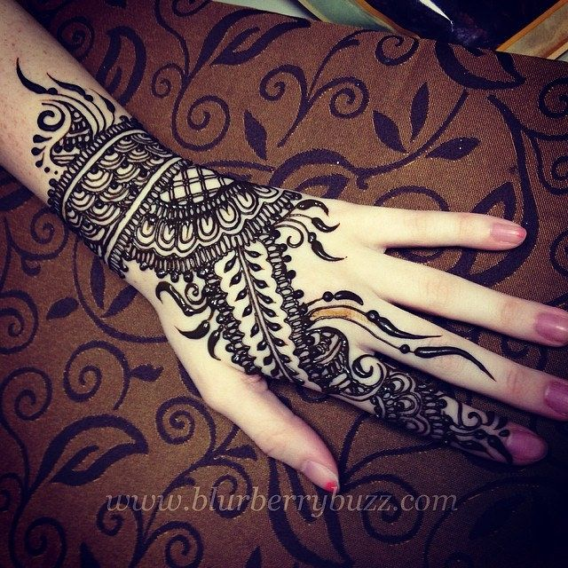 Top 16 Easy Mehndi Design To Wear On Eid Indian Makeup And Beauty