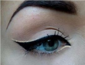 Eyeliner styles for Indian eyes 04