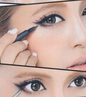 Eyeliner styles for Indian eyes 06