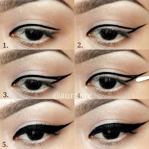 How to do makeup at home step by step with pictures.
