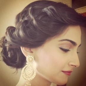 Indian wedding hairstyles 02