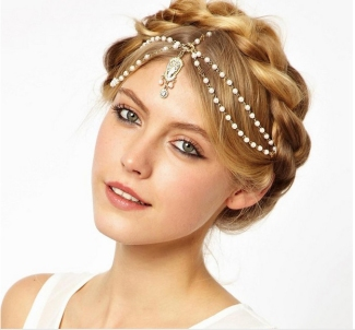 Indian wedding hairstyles 14