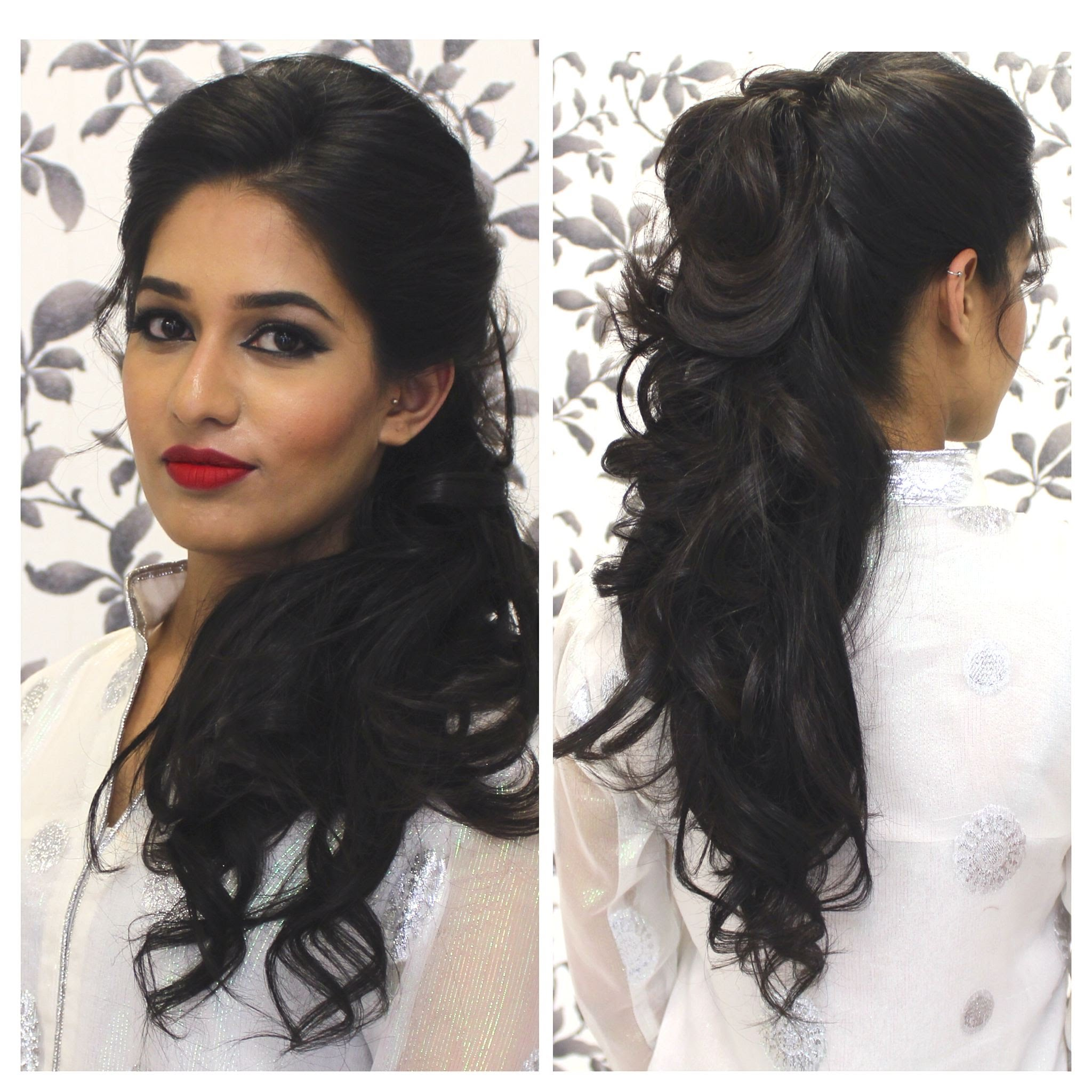 Indian Wedding Hairstyles 22 Indian Makeup And Beauty Blog
