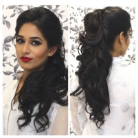 Indian wedding hairstyles 22