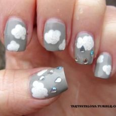 Latest nail art designs 30